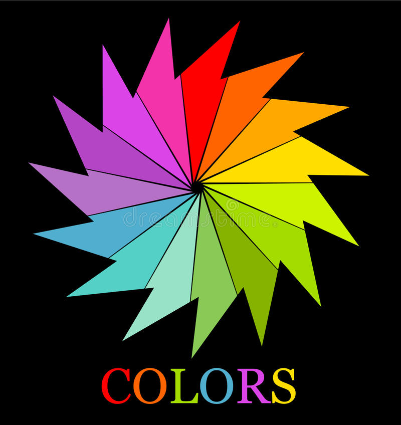 Colorful Symbol Royalty Free Stock Images