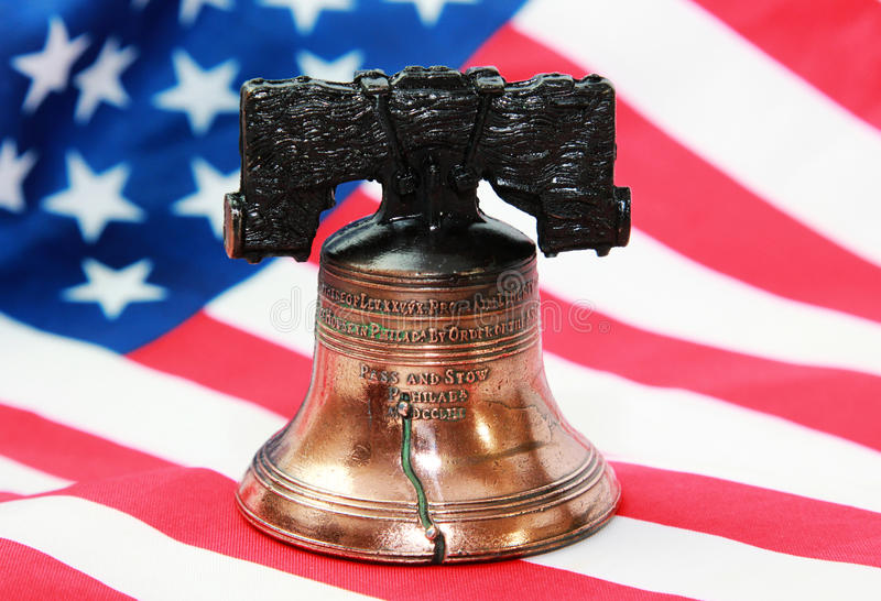 Colorful T's Liberty Bell stock photos