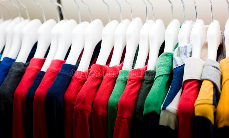 Download Colorful T-shirts Royalty Free Stock Image - Image: 16327096