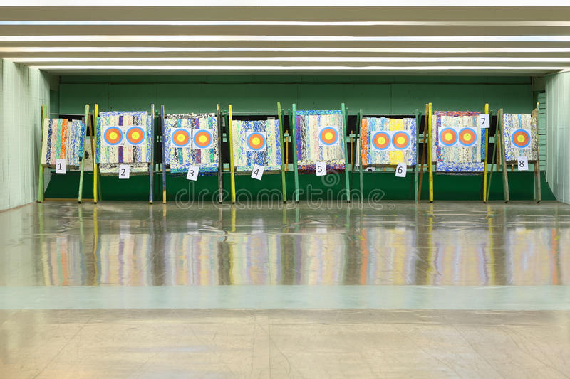 Download Colorful Targets For Archery Stock Photo - Image: 24227356