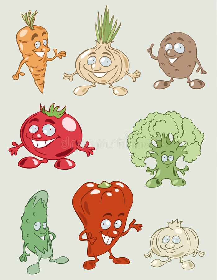 Download Colorful And Tasty Vegetables Stock Vector - Illustration: 16463048
