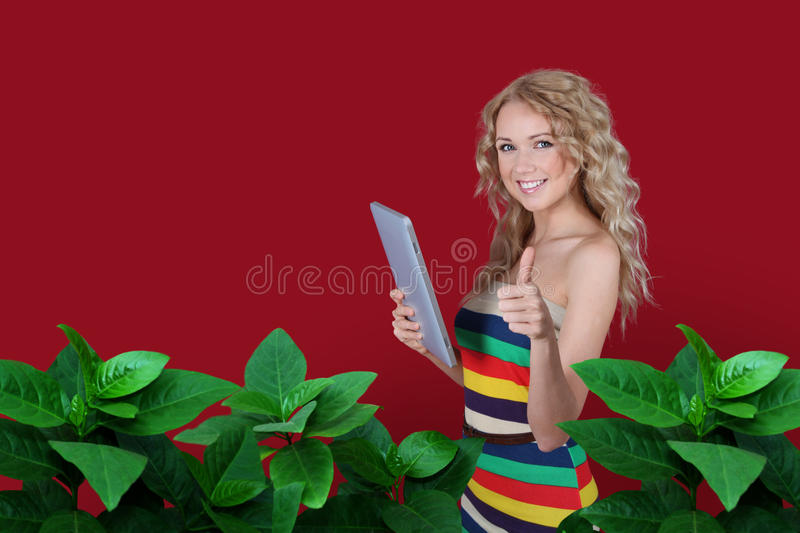 Download Colorful technology stock photo. Image of blond, indoors - 22442850