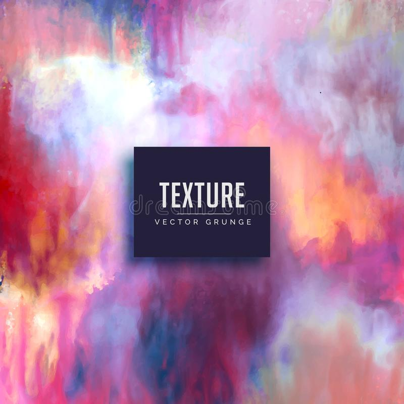 Colorful texture background made with watercolors royalty free illustration