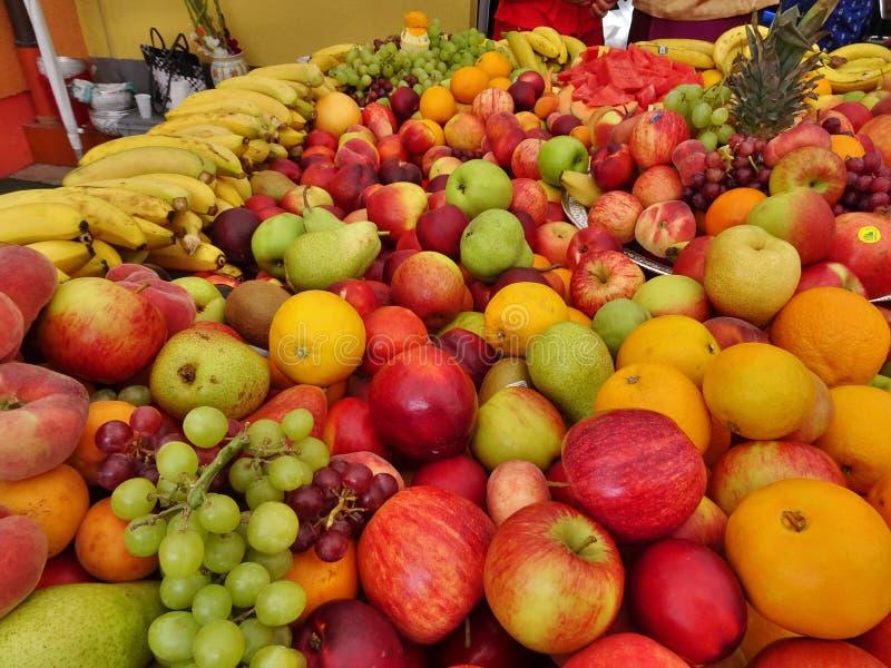 Colorful Thai market stock photo