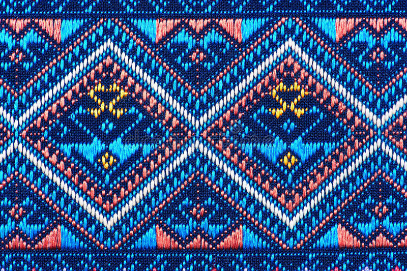 Colorful thai silk handcraft peruvian style rug surface close up More this motif & more textiles peruvian stripe beautiful backgro. Und tapestry persian nomad stock photo