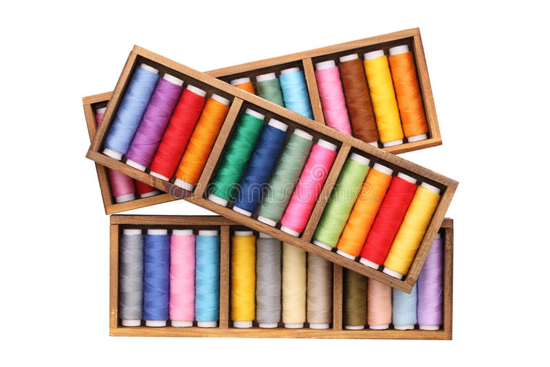 Download Colorful threads stock photo. Image of cylinder, background - 25321996