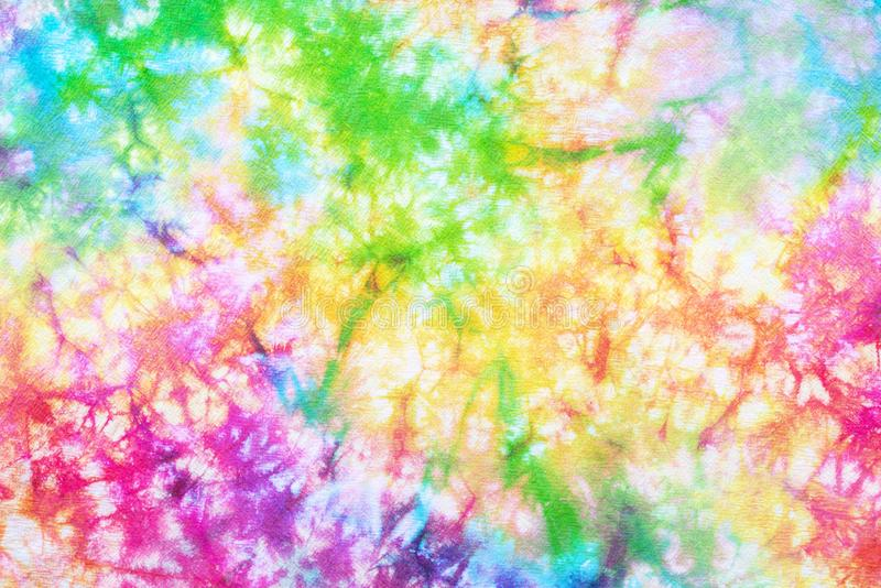 Colorful tie dye pattern abstract background royalty free stock photo