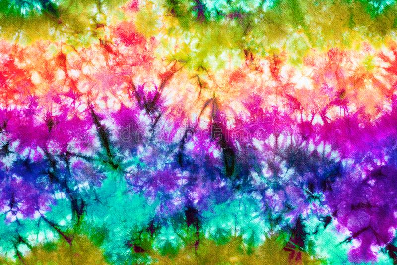 Colorful tie dye pattern abstract background stock photography