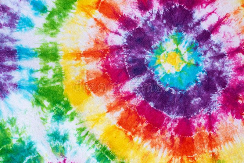 Colorful tie dye pattern abstract background royalty free stock photography