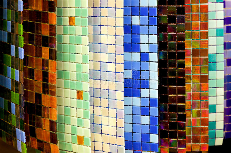 Colorful Tiles Stock Images