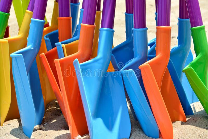 Download Colorful Toy Shovel Royalty Free Stock Photography - Image: 32114867