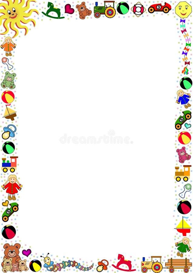 Free Colorful Toys Border Stock Image - 4828551