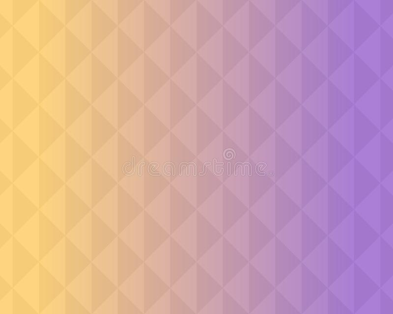 Colorful triangle pattern abstract background with gradient, soft focus background use for desktop wallpaper or website design,. Template background with copy vector illustration