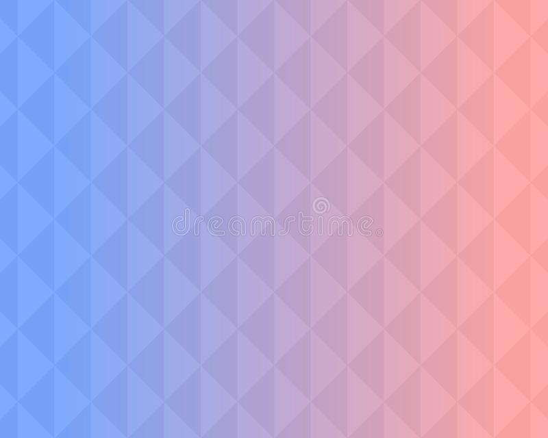 Colorful triangle pattern abstract background with gradient, soft focus background use for desktop wallpaper or website design,. Template background with copy stock illustration