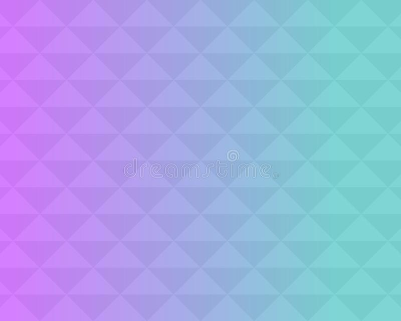 Colorful triangle pattern abstract background with gradient, soft focus background use for desktop wallpaper or website design,. Template background with copy royalty free illustration