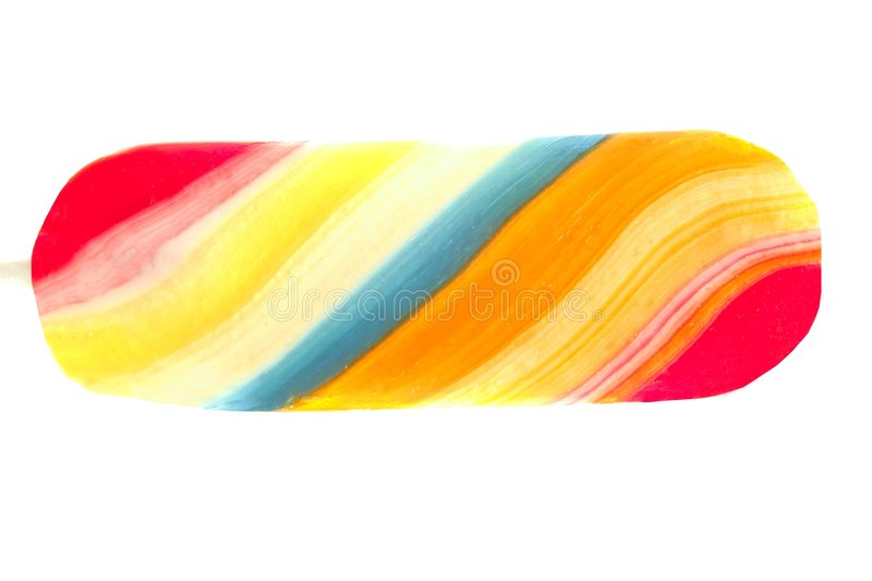 Colorful twisted candy sweet lolipop royalty free stock photography