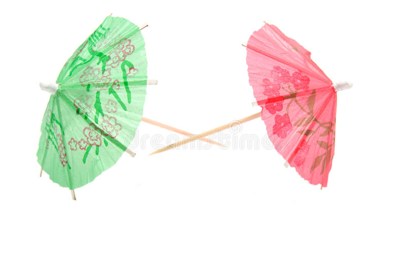 Download Colorful Umbrellas For Icecream And Cocktail Stock Image - Image: 9997621