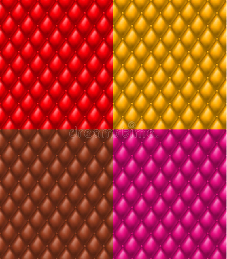 Colorful Upholstery Royalty Free Stock Image