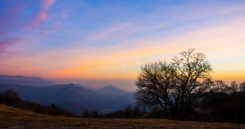 Colorful valley stock images