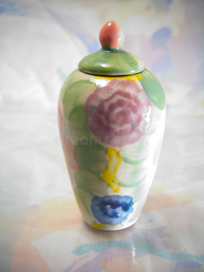 Colorful Vase royalty free stock images