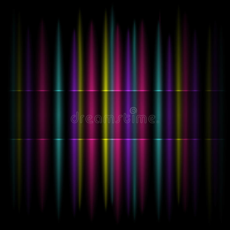 Colorful Vertical Striped Pattern Background Royalty Free Stock Image