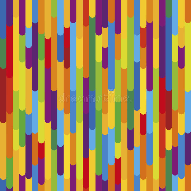 Colorful vertical stripes background texture. Seamless pattern. Colorful vertical stripes background texture. Vector seamless pattern in vibrant colors, tropical royalty free illustration