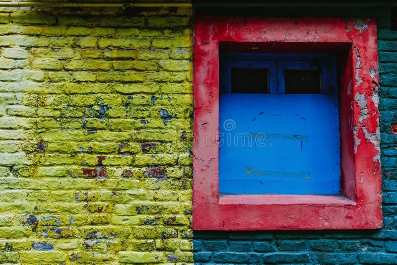 The colorful and vibrant area of La Boca, it`s Caminito in Buenos Aires. The colorful and vibrant area of La Boca, it`s Caminito in Buenos Aires stock image