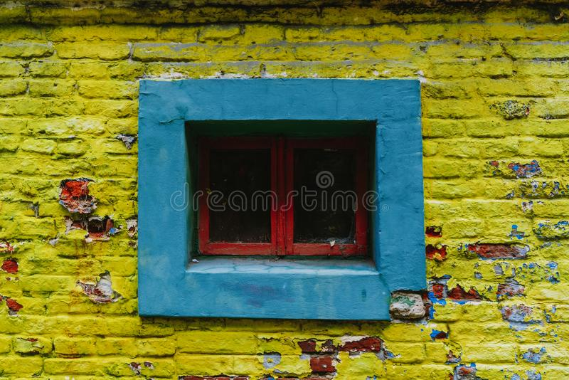 The colorful and vibrant area of La Boca, it`s Caminito in Buenos Aires. The colorful and vibrant area of La Boca, it`s Caminito in Buenos Aires stock photography