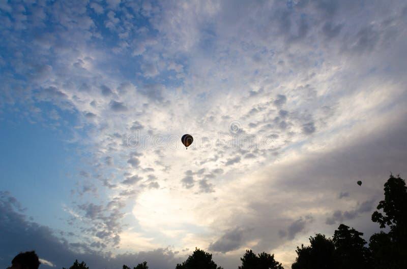 European Balloon Balloon Festival in Igualada, Barcelona stock photo