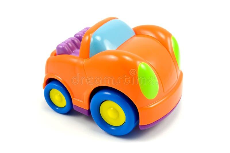 Colorful vivid plastic car royalty free stock photo