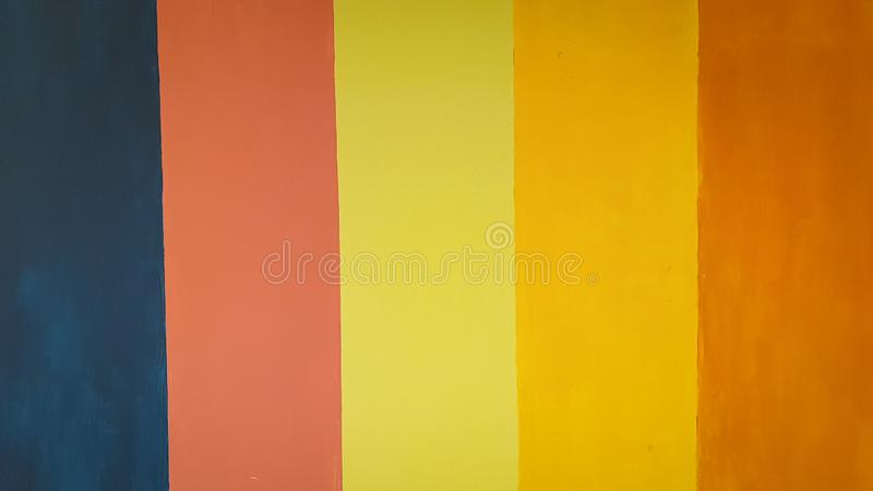 Colorful wall painting make a beautiful background royalty free stock image