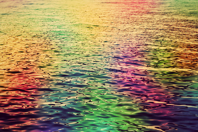 Colorful Water Ripples In The Sea Abstract Hd Background -5247