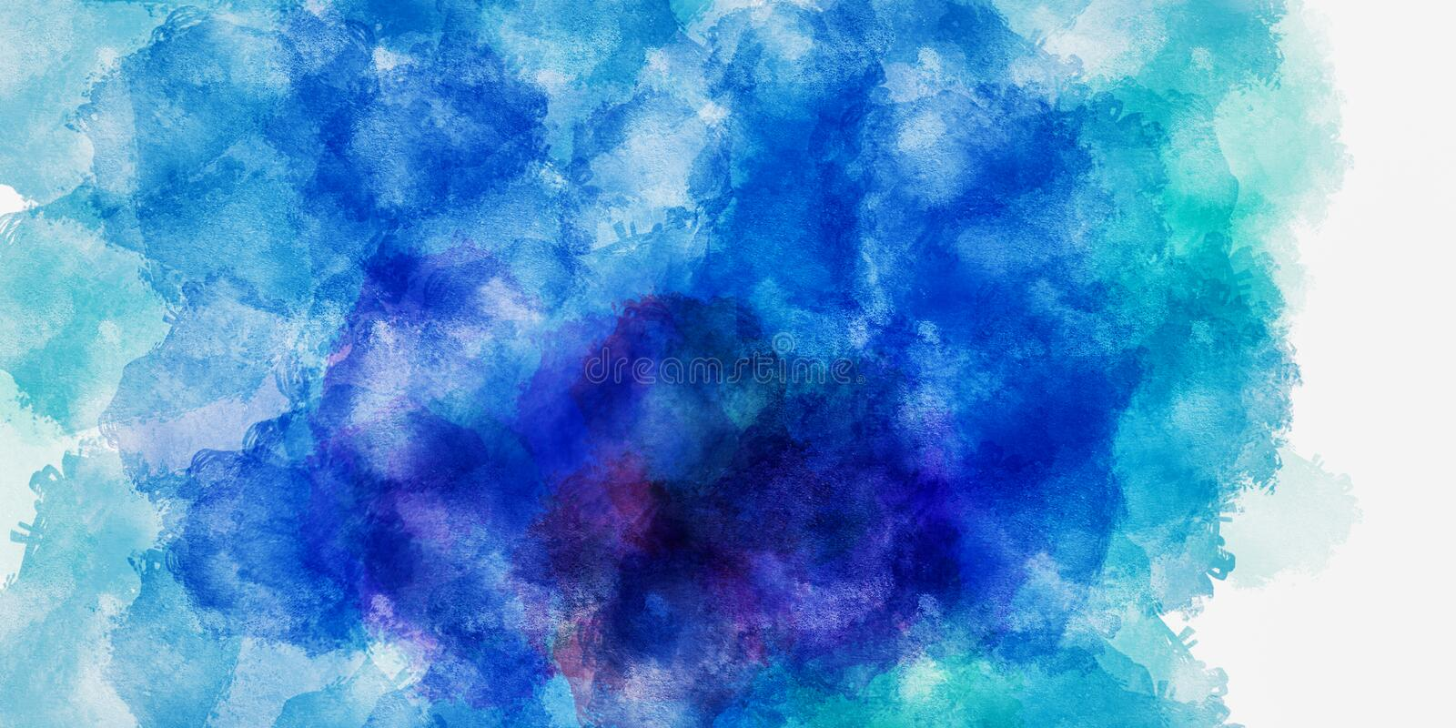 The Colorful watercolor abstract pattern background. Illustration vector illustration