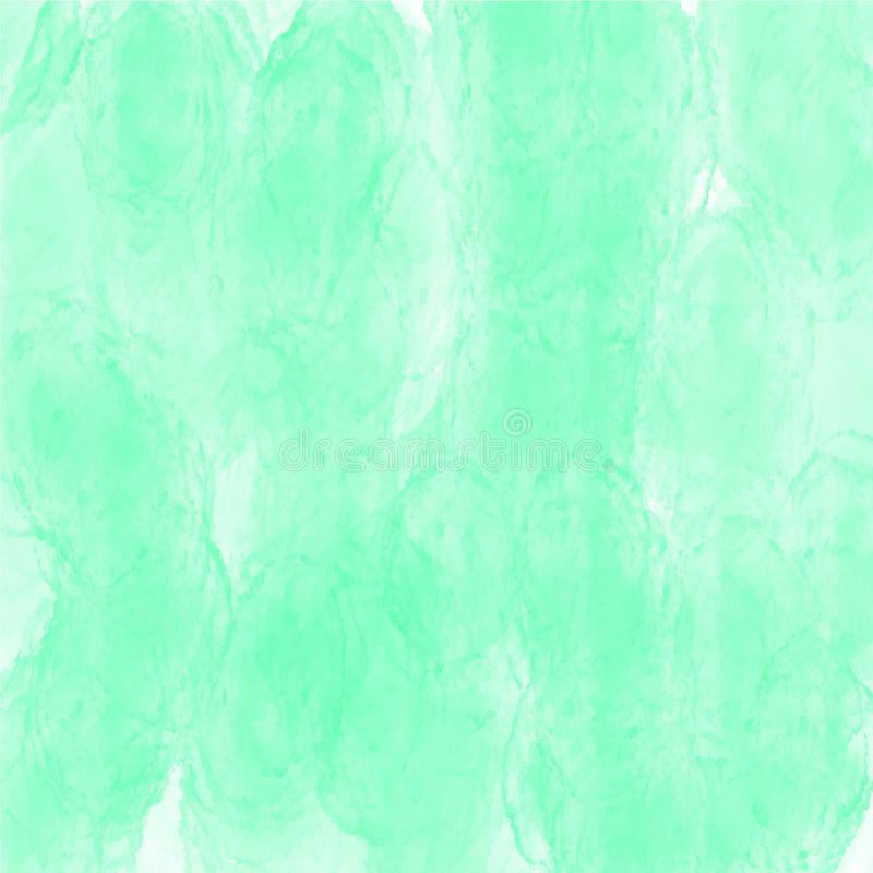 Green watercolor background vector texture pattern for websites, presentations or artwork. Colorful watercolor background vector texture pattern for websites royalty free stock photography