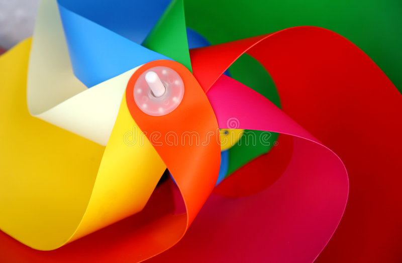Download Colorful windmill stock image. Image of windmill, plastic - 2958875