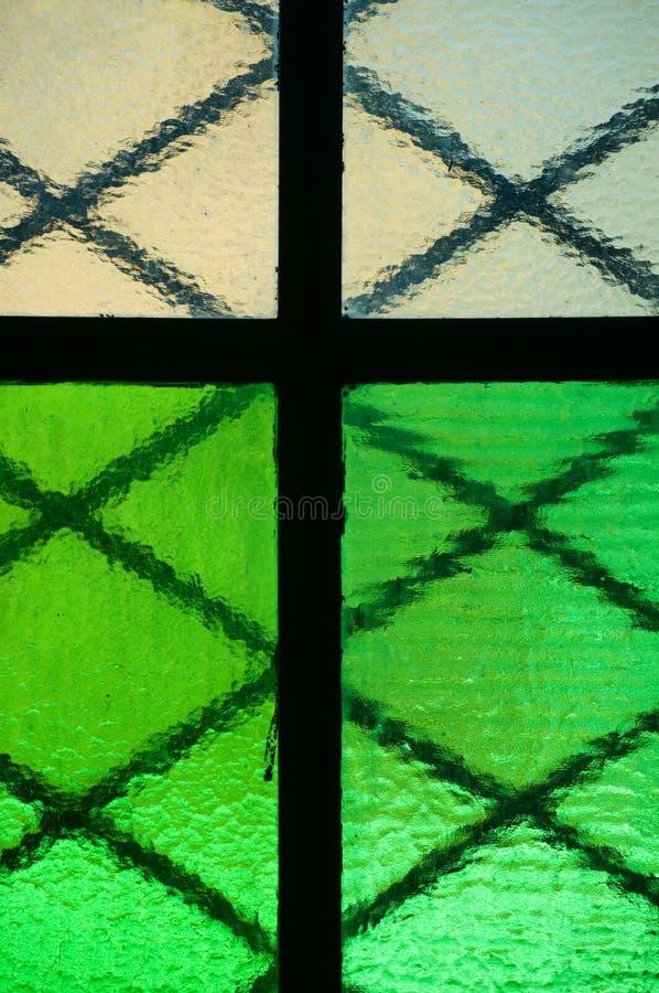 Colorful window pane royalty free stock photos