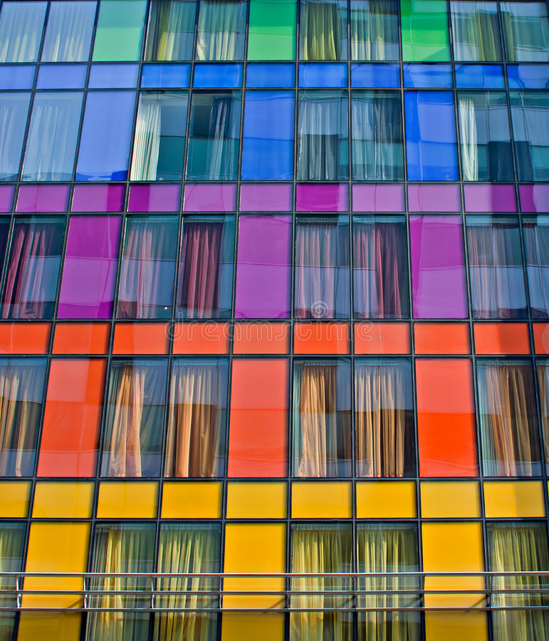 Free Colorful Windows Royalty Free Stock Photography - 24025097