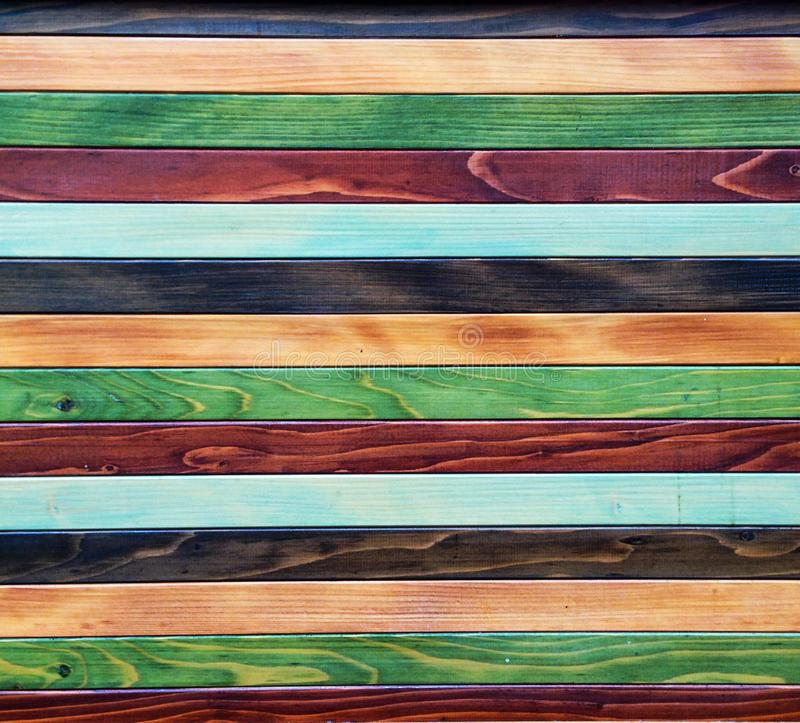 Colorful wood background royalty free stock image