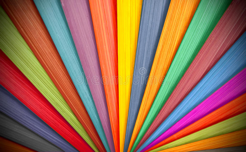 Colorful Wood Background stock photography