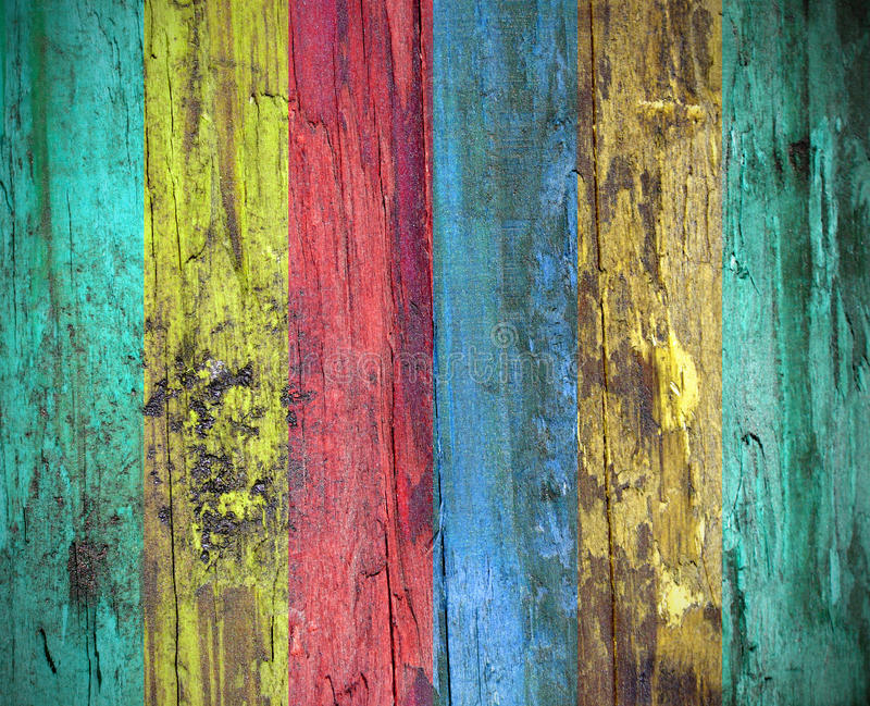 Colorful wood background texture. Grunge colorful wood background texture royalty free stock images