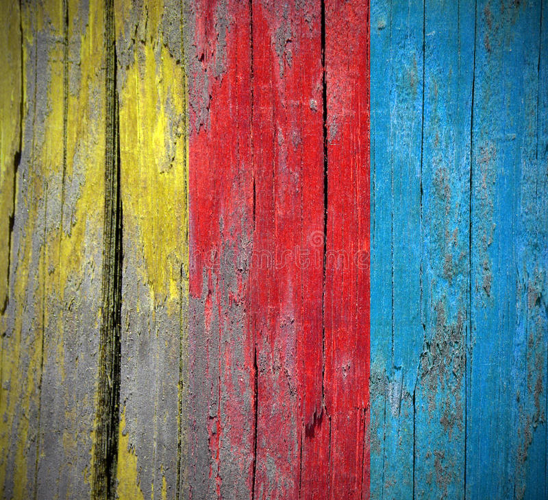 Colorful wood background texture stock image