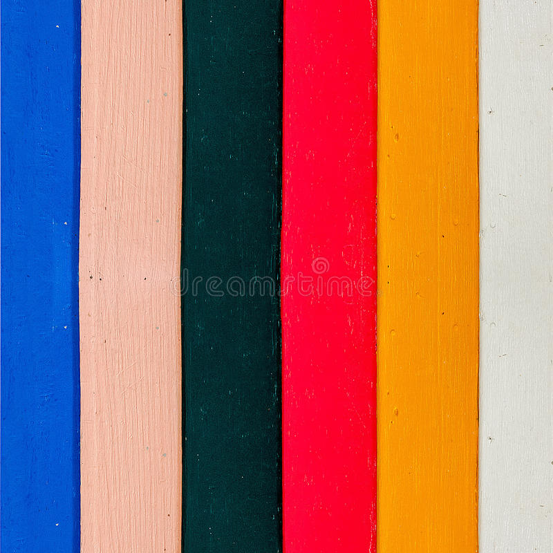Colorful of wood