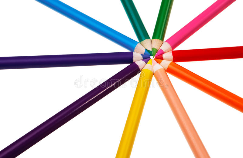 Download Colorful Wooden Crayons. Stock Photo - Image: 20629830