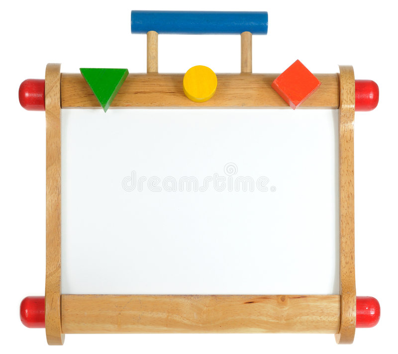 Free Colorful Wooden Whiteboard Royalty Free Stock Photos - 7608198