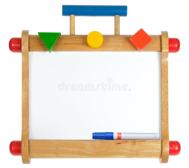 Free Colorful Wooden Whiteboard Stock Photography - 7608292