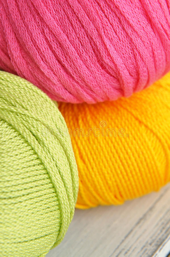 Download Colorful Wool stock photo. Image of cotton, ball, craft - 23806688