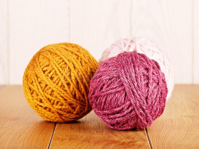 Colorful Yarn Ball stock photography