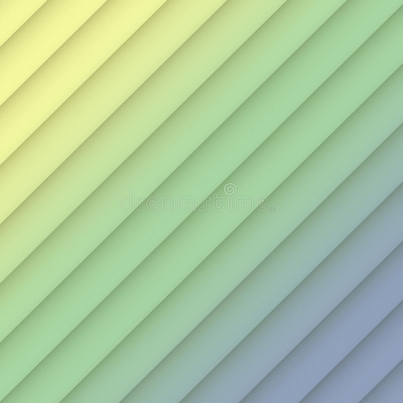 Colorful yellow green blue geometric diagonal lines abstract wallpaper background illustration vector illustration