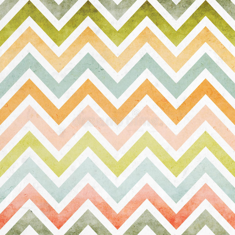 Colorful zigzag seamless pattern stock illustration