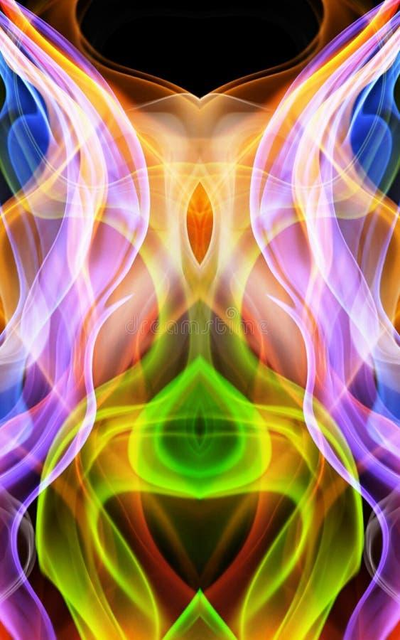 Colorfull abstrac arkivfoto